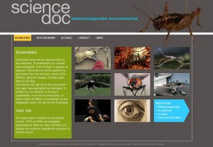 Sciencedoc, een WordPress website