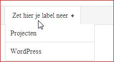 WordPress-menu-zonder-link-maken3